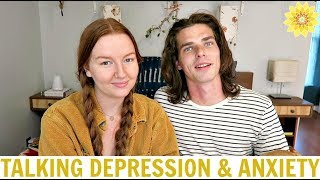 LOVING SOMEONE WITH DEPRESSION | A MENTAL HEALTH CHAT | MEG + FIN