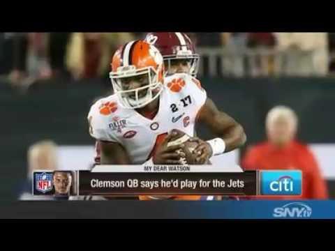 DeShaun Watson to the Jets?