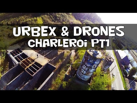 Urbex & Drones || charleroi pt1 (abandoned concrete factory)