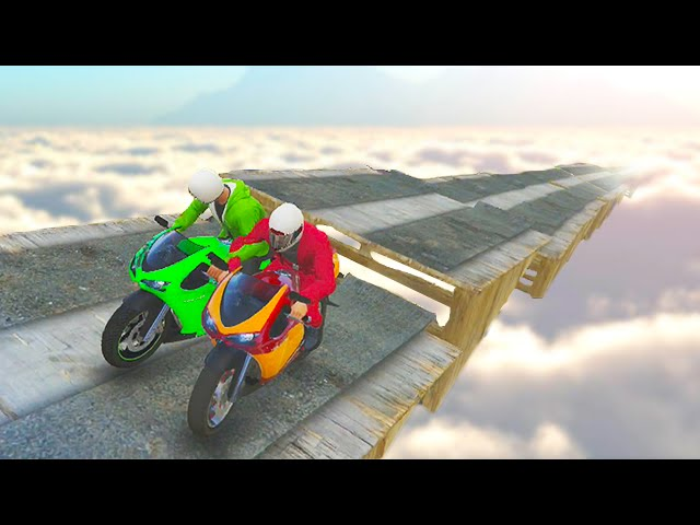 HARDEST BIKE STUNTS EVER! (GTA 5 Funny Moments)