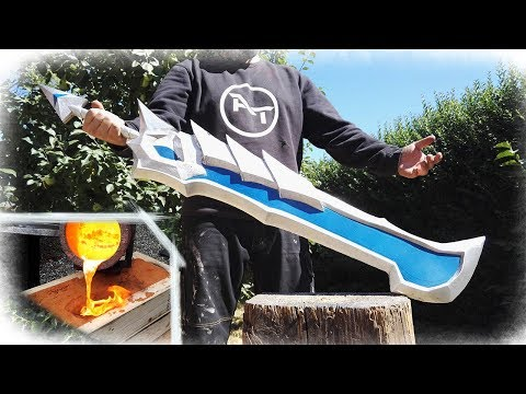 GIANT Aluminum Casting - Alucard Sword (Mobile Legends)