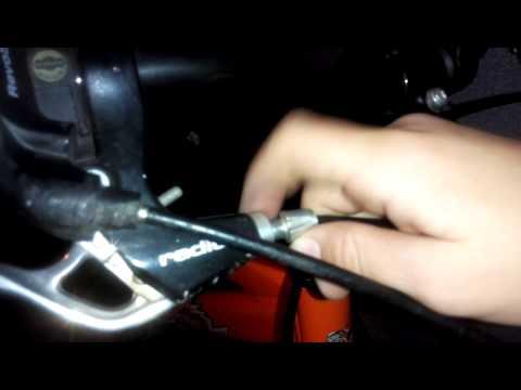 Как подтянуть тормоза на велосипеде.