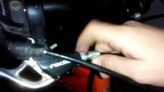 Как подтянуть тормоза на велосипеде.(, 2014-10-01T17:39:59.000Z)