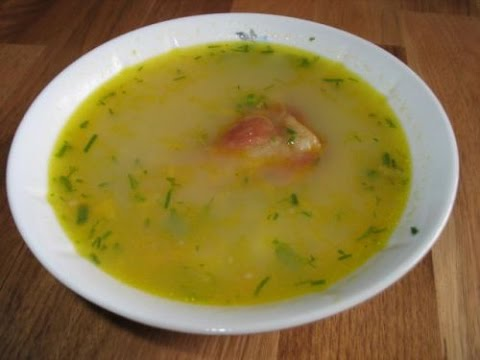 Гороховый суп в мультиварке пошаговый рецепт