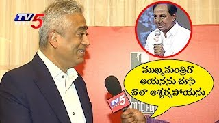 Rajdeep Sardesai Awestruck By Telangana Chief Minister KCR Confidence And Determination | TV5 News