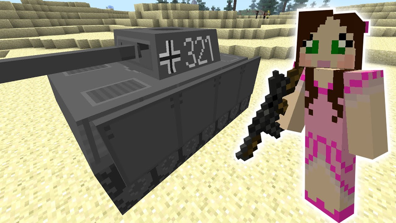 Minecraft Giant Tank Rampage Mission The Crafting Dead