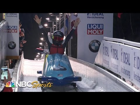 Kaillie Humphries wins third bobsled world title in first season for U.S.  NBC Sports