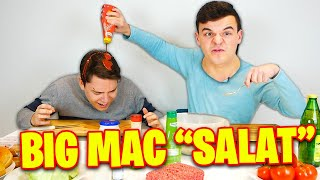 Tourette kocht/backt? Big Mac Salat