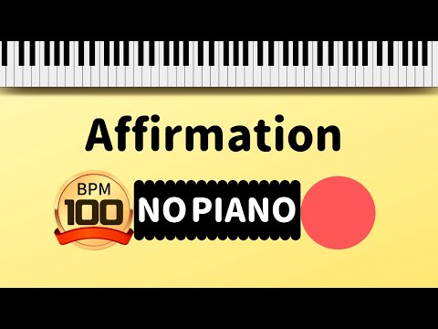【Backing Track】Affirmation  George Benson  BPM100 【NO PIANO】