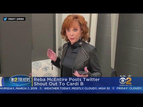 Kathi Yeager - Wait!  Watch Reba Totally Slay Here Cardi B Okuuuurr