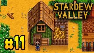Stardew Valley Прохождение 11 Курятник готов