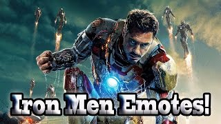 Marvel Super Hero Squad Online Iron Men Power Emotes- 720p HD