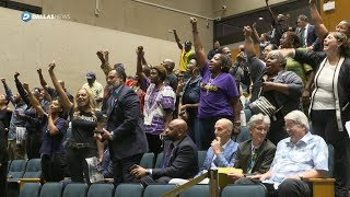 Dallas City Council meeting interrupted by protesters