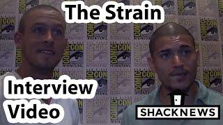 The Strain Miguel Gomez & Jack Kesy Interview