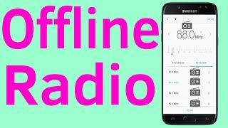 📻📻Radio Offline : Offline Radio For Samsung Galaxy Android - Helping Mind