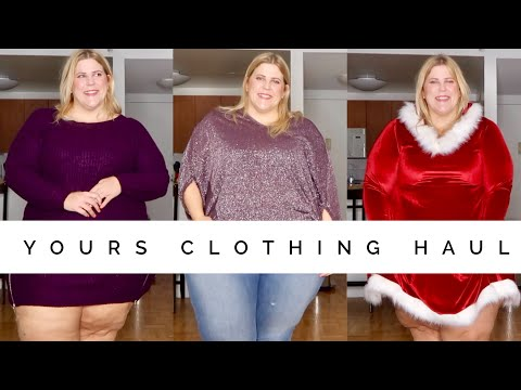 Yours Plus Size Holiday Haul