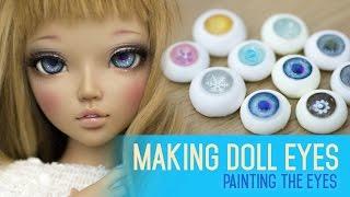 Video Eye making for dolls - Painting the iris and cornea download MP3, 3GP, MP4, WEBM, AVI, FLV November 2017