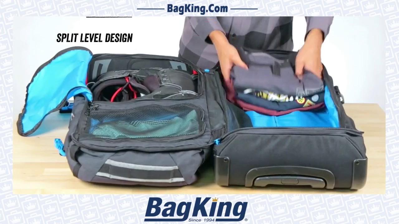 Dakine Travel Split Roller 110 L Luggage Bag Black