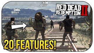 Red Dead Online: 20 Features We Know So Far!