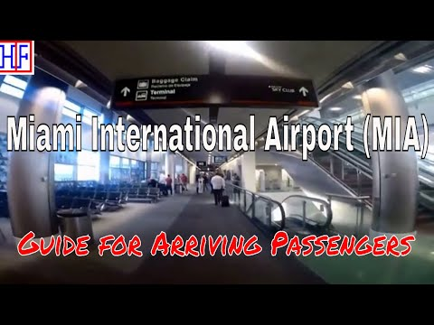 Miami International Airport (MIA) – Arrivals and Ground Transportation Guide | Travel Guide | Ep#1