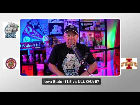 Iowa State vs ULL 9/12/20 Free College Football Pick and Prediction CFB Tips