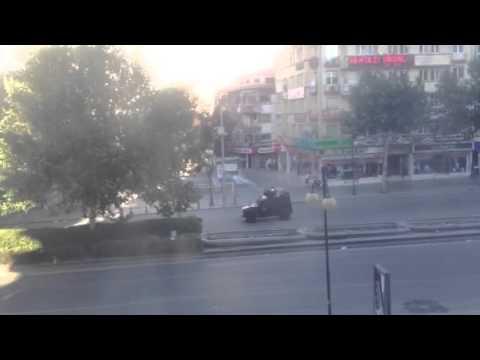 Illegal protests in Ankara, Turkey