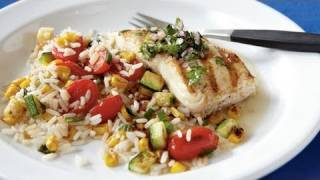 Pan-grilled Halibut With Chimichurri Recipe