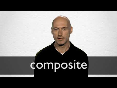 How to pronounce COMPOSITE in British English
