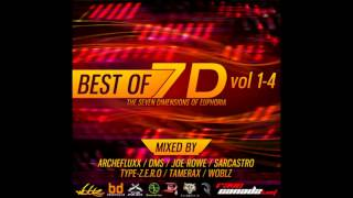 Tamerax - Best of 7D: The Seven Dimensions of Euphoria - Freeform Hardcore Mix