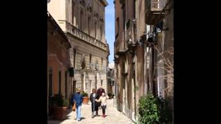Erice, città medievale. Meraviglia della provincia di Trapani.