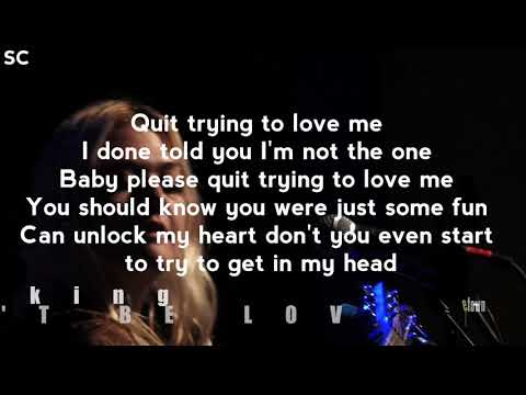 ELLE KING - CAN'T BE LOVED // LYRICS