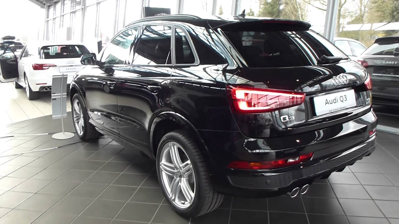 2016 audi q3 sport 39 39 s line 39 39 exterior interior 2 0 tdi 150 hp 204 km h 126 mph playlist. Black Bedroom Furniture Sets. Home Design Ideas