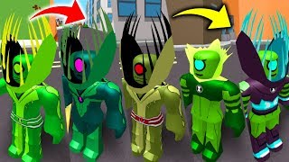BEN 10 ROBLOX! THE EVOLUTION OF THE SUPREME AND ULTIMATE WILD VINE-BEN 10 FIGHTING GAMES