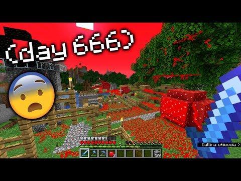 IL GIORNO 666 SU MINECRAFT !!!! *creepy*