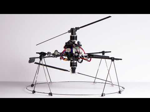 A Fully Actuated Aerial Vehicle using Two Actuators