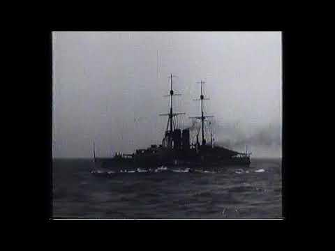 1914-01-17 Stapellauf der Szent Istvan in Fiume