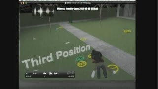 Zimmerman trial: Forensics animation of Trayvon Martin and George Zimmerman