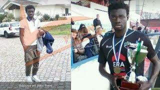 Meurtre d'un jeune footballeur Lamine Ndoye  à yoff