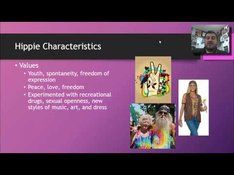 21-1: US Counterculture (Hippies)