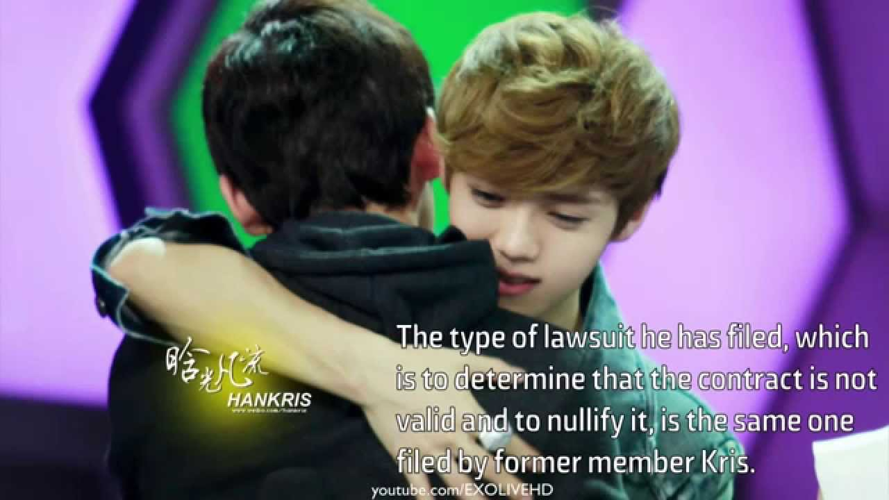 Why did luhan leave exo