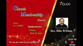 Church Membership Part- 6