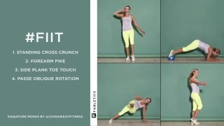FIIT | 4 Moves to Whittle Your Waist