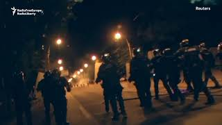 Romanian Protest Turns Violent After Police Scuffle With Protesters