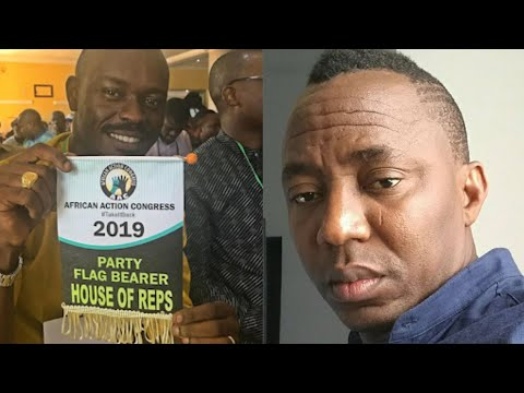 AAC Candidate Mr Jollof Accuses AAC Party Of Scam , Calls Out Sowore .