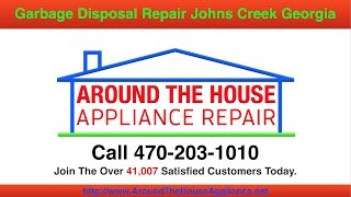 Garbage Disposal Repair Johns Creek Georgia
