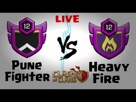 Live Clan War | clash of clans india