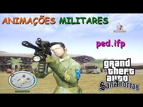 DOWNLOAD NOVAS ANIMAÇÕES MILITARES BY D3SM0ND PARA GTA SA FULL HD 1080p