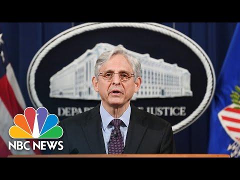 Justice Department Announces Action Against Texas Abortion Law   NBC News