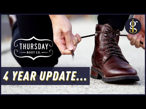 REVIEW: Thursday Boots Captain, President & Duke Long-Term (4 Years Later)