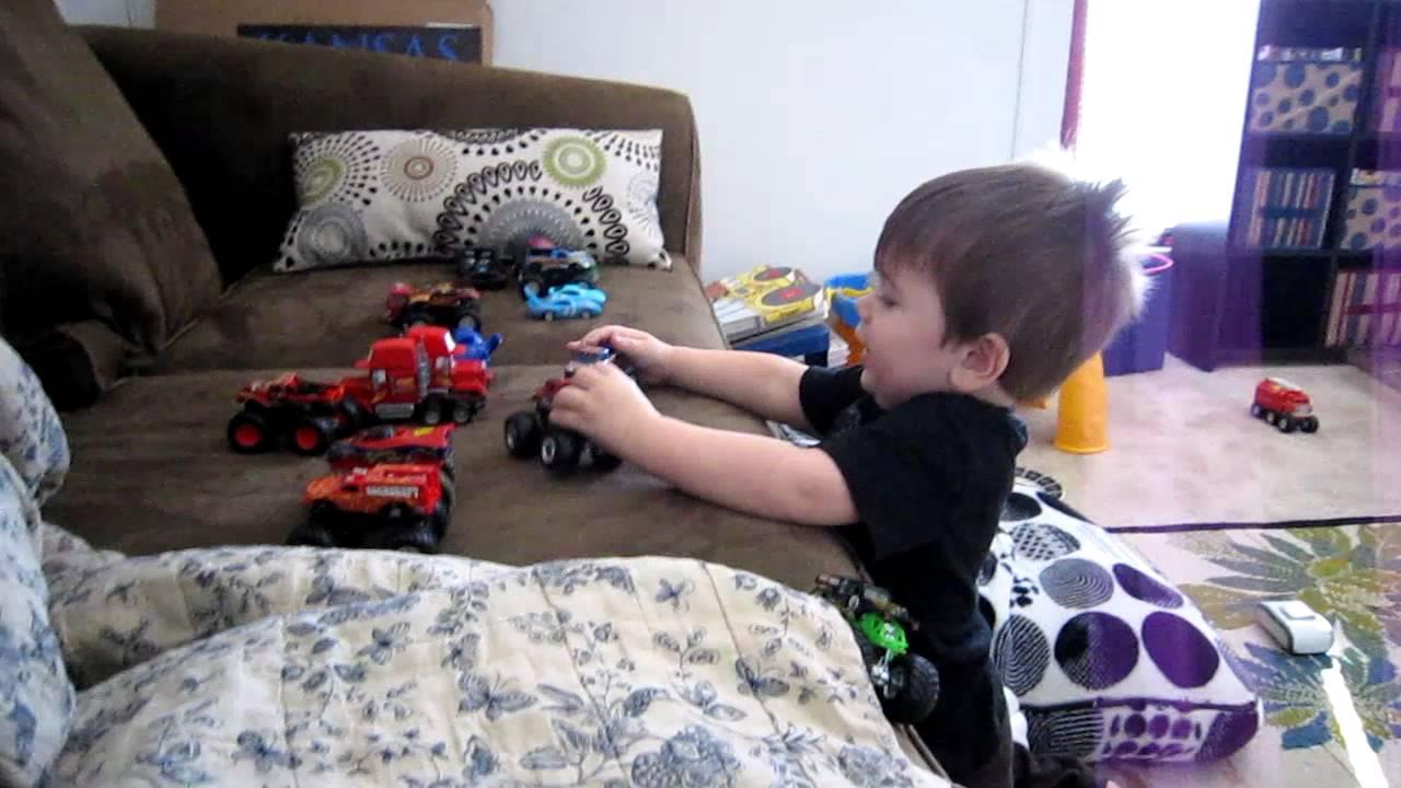 Hyperactive Toddler - YouTube